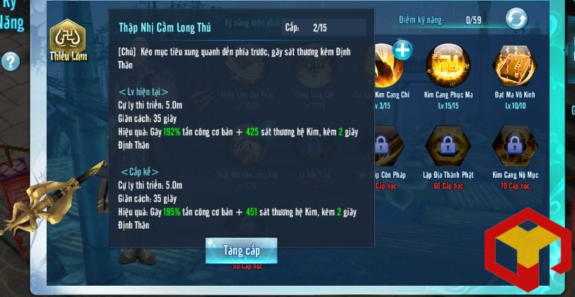 hieu ung ky nang vo lam truyen ky mobile 10